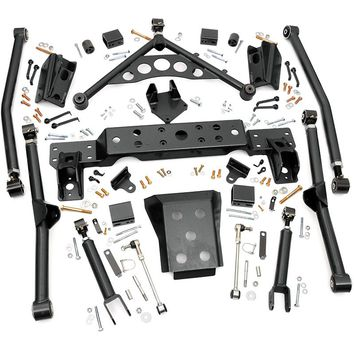 Jeep Grand Cherokee WJ X-Flex Long Arm Upgrade Kit for 4-inch Lifts 1999 - 2004