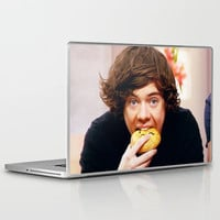 Harry Eating Pie Laptop & iPad Skin by sweaterhouse | Society6