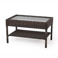 SONOMA outdoors Carmel Wicker Coffee Table (Brown)