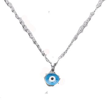 Turkish Evil Eye Protection Necklace