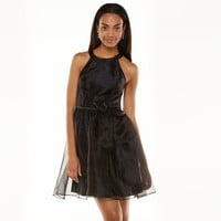 LC Lauren Conrad Fit & Flare Organza Dress - Women's