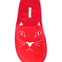 Charlotte Olympia House Cat Slippers - Farfetch