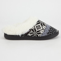 MUK LUKS Fairisle Womens Slippers | Slippers