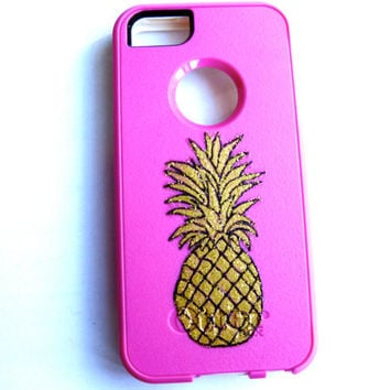 Otterbox commuter case, iphone5c case ,pineapple case
