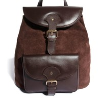 ASOS | ASOS Leather Vintage Style Backpack at ASOS