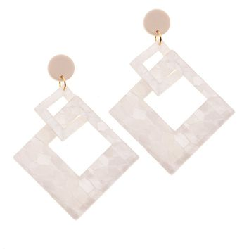 Greta Resin Earrings