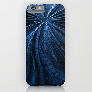 Cold Metal Abstraction iPhone & iPod Case by Cinema4design