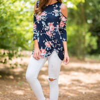 In It For Love Top, Navy