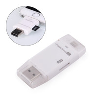 Portable i-FlashDevice Card Reader for iPad iPhone iPod Touch - White