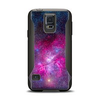 The Pink & Blue Galaxy Samsung Galaxy S5 Otterbox Commuter Case Skin Set