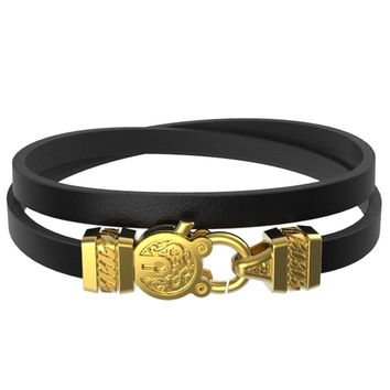Mister Edge Leather Bracelet V2