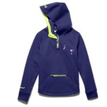 Under Armour Girls' UA Storm ColdGear Infrared Dobson  Zip Hoodie