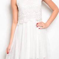 Sweet Innocence White Dress