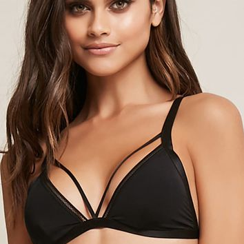 Strappy Triangle Bralette