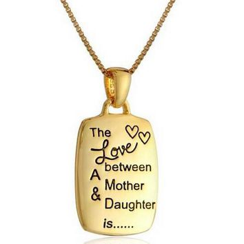 the love between a mother daughter is necklace uniquenacklace 37 2