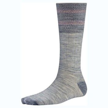Smartwool Metallic Striped Cable Sock   Women's
