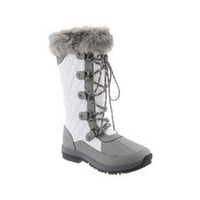 Bearpaw Women's Quinevere Gray/White Winter Boot - Sears
