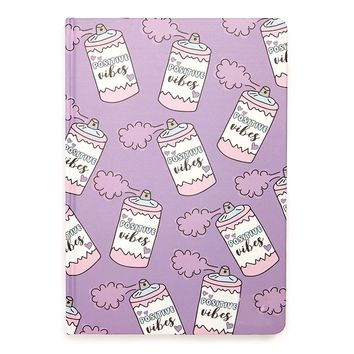 Positive Vibes Hardcover Notebook