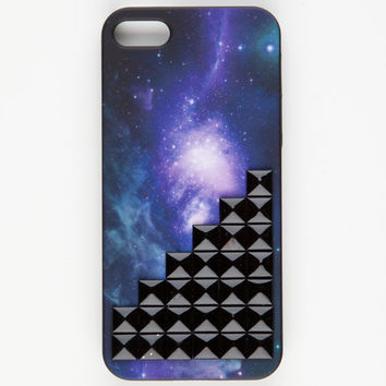 Galaxy Stud Iphone 5 Case Black Combo One Size For Women 22707814901
