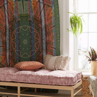 Kaleidoscope Ikat Medallion Tapestry - Urban Outfitters