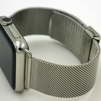 Slim Metal Wrist Strap for Apple Watch