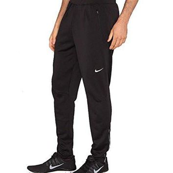 Nike Mens Dri-Fit Running Track Pants-Black-Large