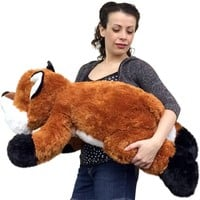 Huge Stuffed Fox 36 Inches Soft Big Plush Premium Quality Large Stuffed Animal
