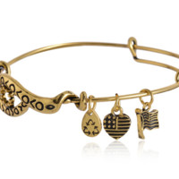 Alex and Ani  pattern pendant charm bracelet,a perfect gift !