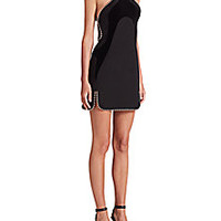 Alexander Wang - Ball-Chain Accent Paneled Dress - Saks Fifth Avenue Mobile