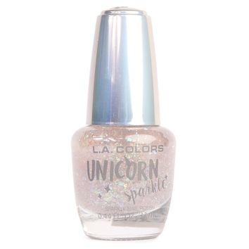 L.A Colors Unicorn Sparkle Nail Polish