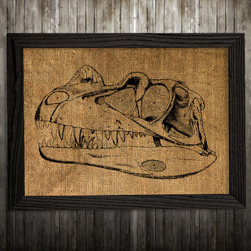Animal poster Dino skull print Skull print Anatomy decor BLP891