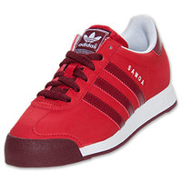 Boys' Grade School adidas Samoa Leather Casual Shoes