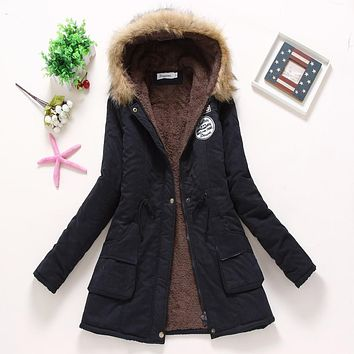 Winter Jacket Parka Snow Outwear