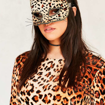 Leopard Mask - Urban Outfitters