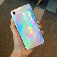 Drip Hologram Phone Case For iPhone 7 7Plus 6 6s Plus 5 5s SE