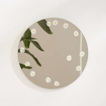 Daisy Round Mirror | Urban Outfitters