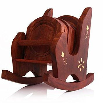 Rocking Chair - Wooden Coasters Ornament Souvenir Gift Maq Boutique Accessories Home