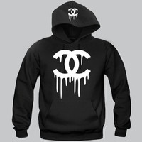 "Chanel Dripping  Hoodie ""2 Prints"" Funny and Music"