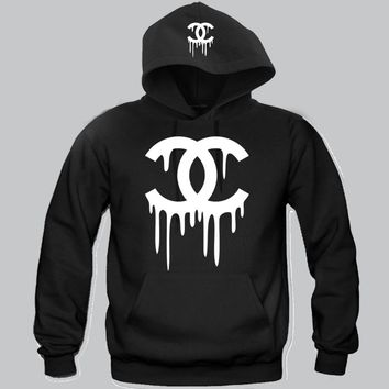 """Chanel Dripping  Hoodie """"2 Prints"""" Funny and Music"""