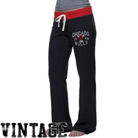 47 Brand Chicago Bulls Ladies Powerstretch Pants - Black