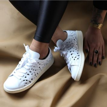 Adidas Stan Smith Cutout Hollow Leisure Sneakers