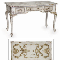 European Scroll Writing Desk