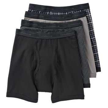 Croft & Barrow 4-pk. Stretch Boxer Briefs
