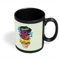 Andy Warhol Black Coffee Mug