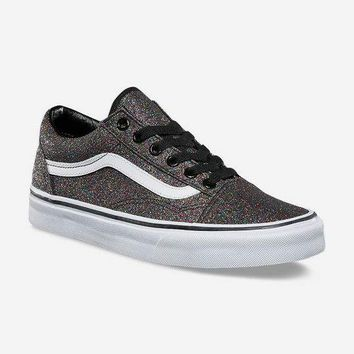 VANS Glitter Old Skool Womens Shoes