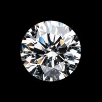 2ct Round Radiant Cut Diamond Veneer Loose Stone