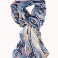 Globetrotter Ikat Woven Scarf