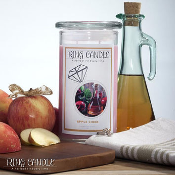 Apple Cider Ring Candle