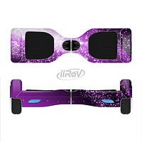 The Shower of Purple Rain Full-Body Skin Set for the Smart Drifting SuperCharged iiRov HoverBoard