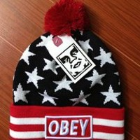 Obey Full of Stars Beanie